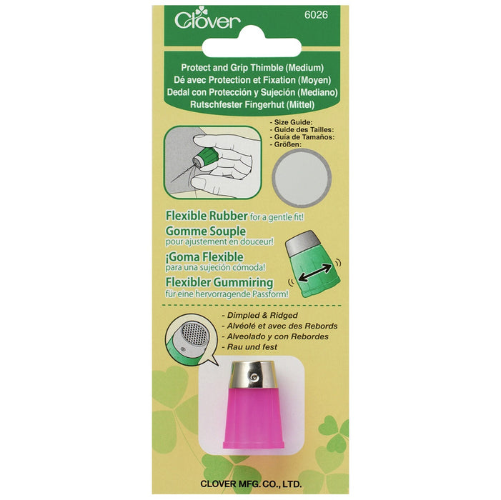 Clover Protect & Grip Thimble - The Village Haberdashery