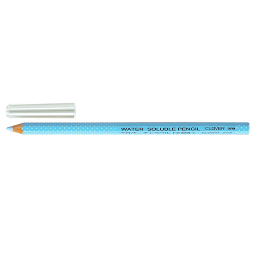 Clover Water Soluble Pencil - Blue - The Village Haberdashery