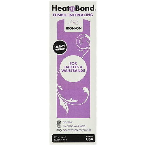 HeatnBond Fusible Interfacing - Heavy Weight - The Village Haberdashery