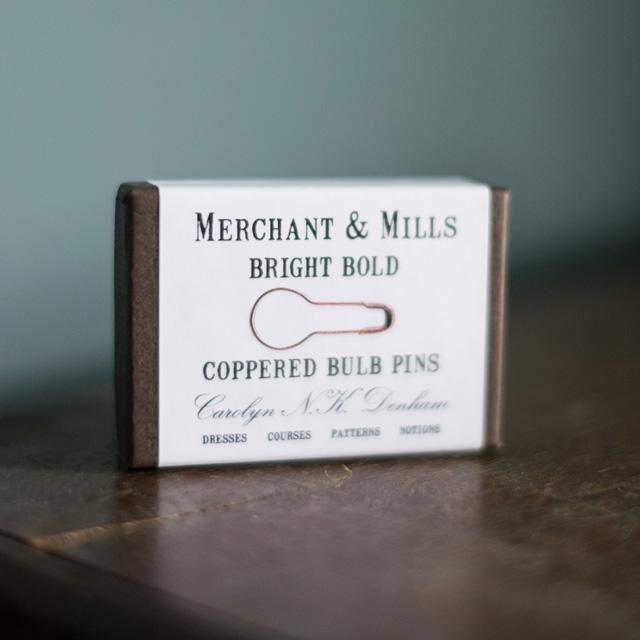 Merchant & Mills Coppered Bulb Pins - The Village Haberdashery