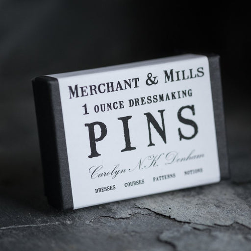 Merchant & Mills Dressmaking Pins - The Village Haberdashery