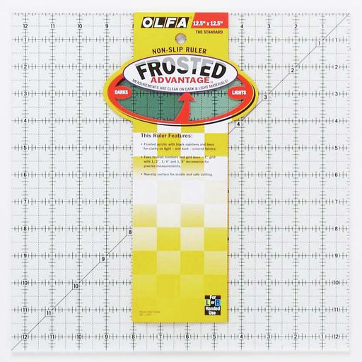 Olfa Square Quilting Ruler - 12.5 - The Village Haberdashery