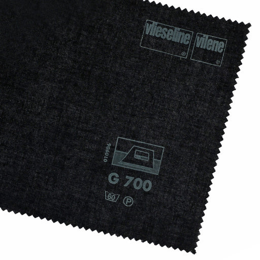 Vilene Woven Fusible Interfacing - Black - The Village Haberdashery