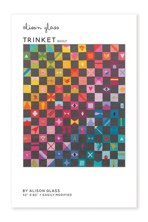 Trinkets - Alison Glass Quilt Pattern - The Village Haberdashery