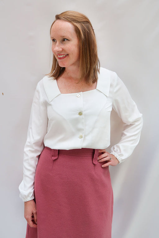 Jennifer Lauren Handmade - The Aisling Blouse - PDF - The Village Haberdashery
