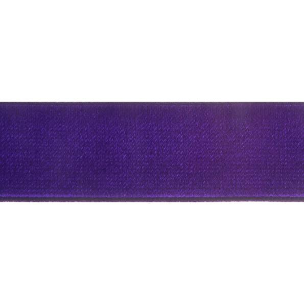 Velvet Ribbon - Purple - 16mm - The Village Haberdashery