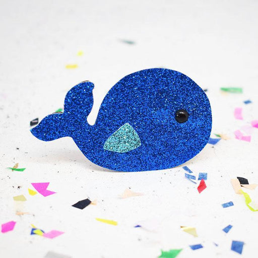 The Make Arcade Cute Badge Making Kit - Whale - The Village Haberdashery