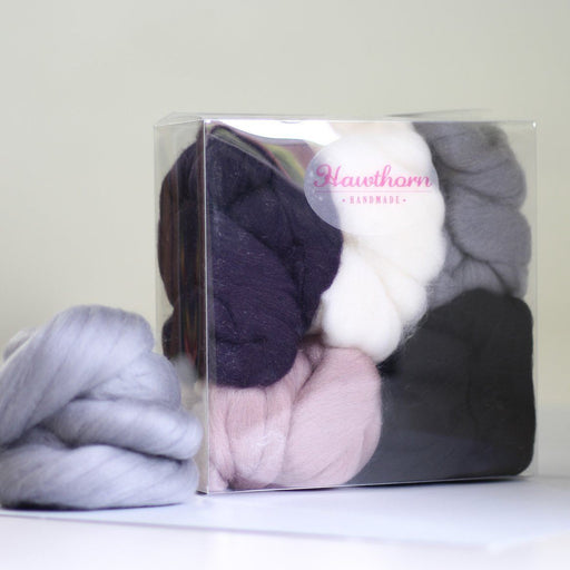 Felting & Spinning Wool - Winter Merino Bundle - The Village Haberdashery
