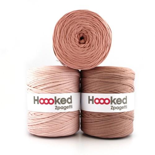 Hoooked Zpagetti T-Shirt Yarn - 25m Bobbins - Brown Shades - The Village Haberdashery