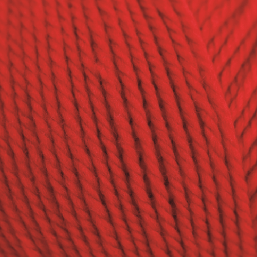 Rico Essentials Soft Merino Aran - Red - 8 - The Village Haberdashery