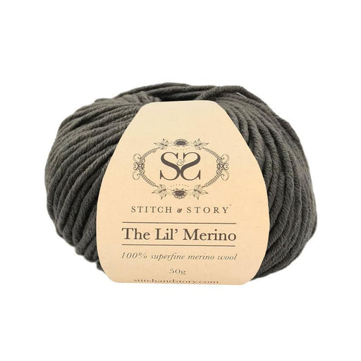 Stitch & Story The Lil' Merino Baby Wool - Pebble Grey - 517 - The Village Haberdashery