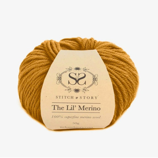Stitch & Story The Lil' Merino Baby Wool - Tan - 505 - The Village Haberdashery