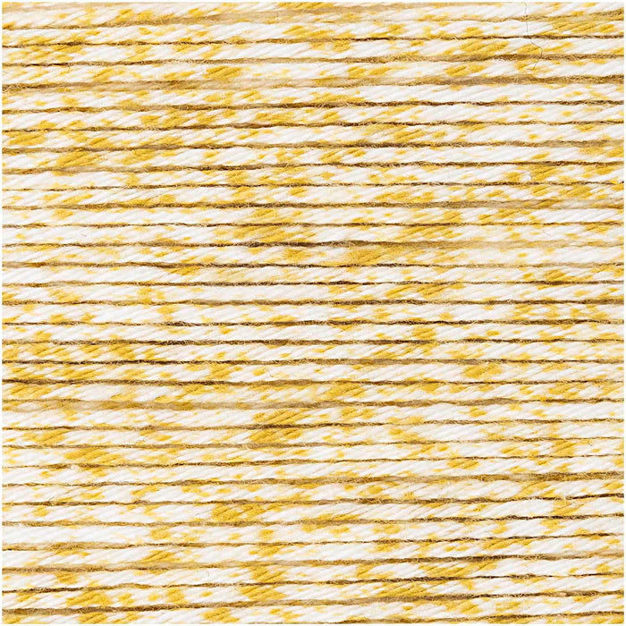 Ricorumi Cotton DK -  Spray Yellow - 001 - The Village Haberdashery