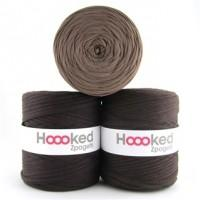 Hoooked Zpagetti T-Shirt Yarn - 120m Bobbins - Brown Shades - The Village Haberdashery