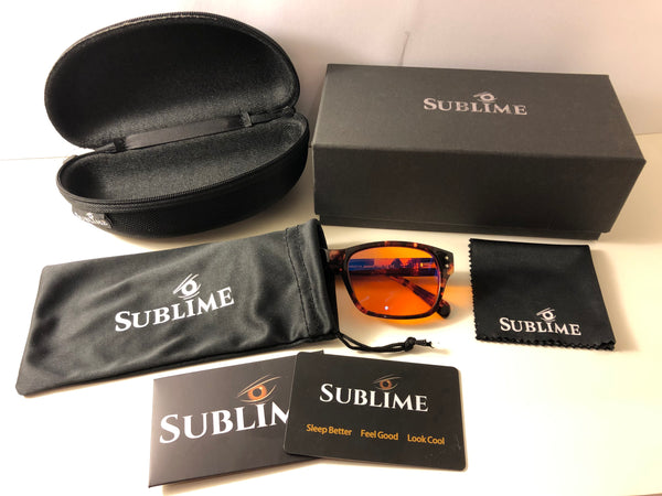 Blue Light Blocking Glasses-Sublime Blue Blockers-Sublime Primo Details-Sublime Packaging Primo
