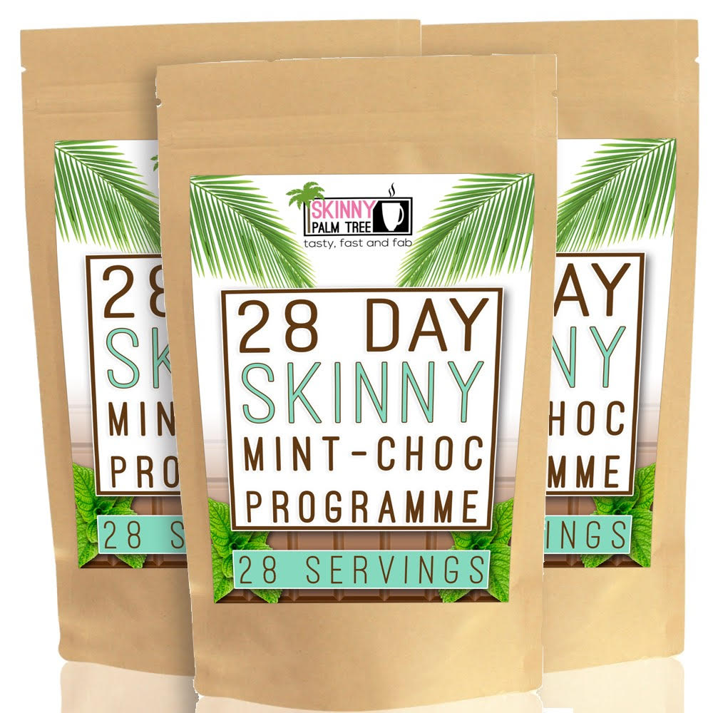 Skinny Palm Tree Weight Loss Hot Chocolate - Mint Choc Chip Flavour - 12 Week Programme