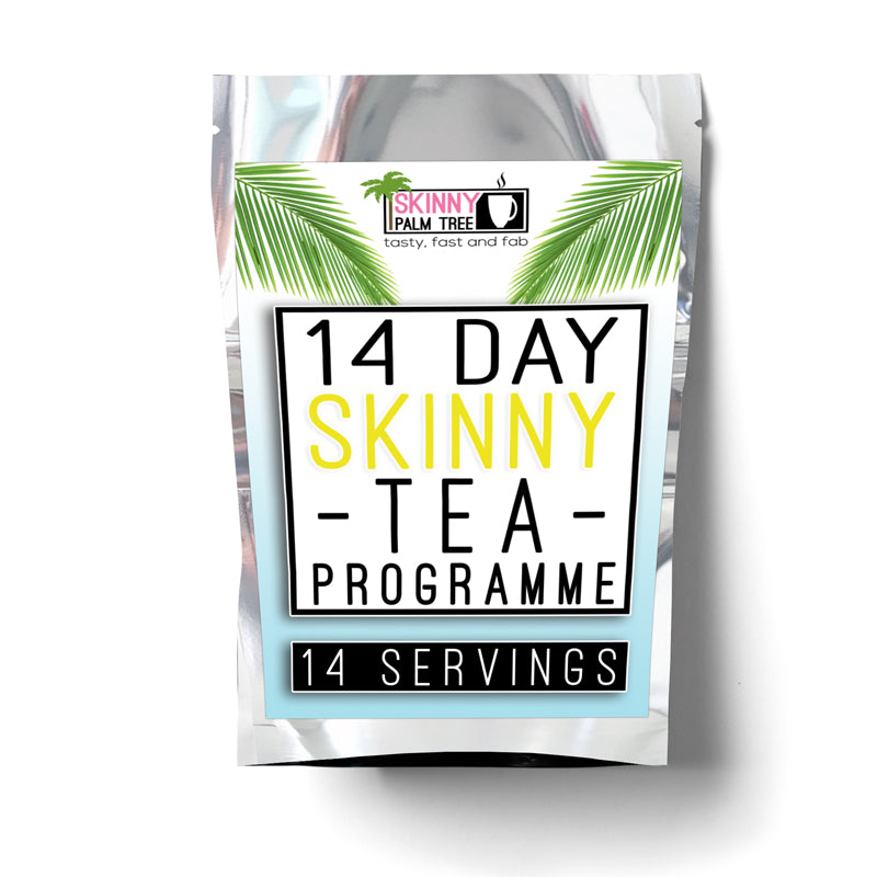 Skinny Palm Tree Weight Loss Tea - 14 Day Programme