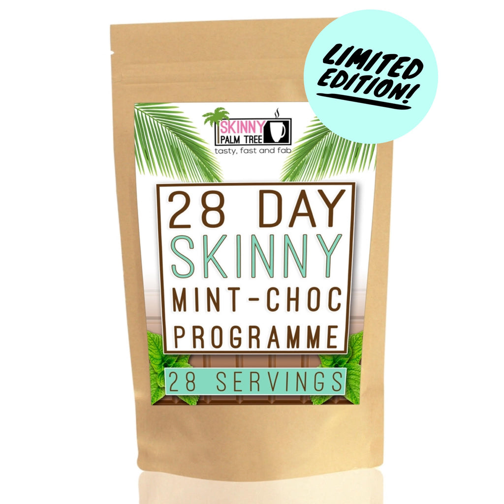 Skinny Palm Tree Weight Loss Hot Chocolate - Mint Choc Chip Flavour - 28 Day Programme