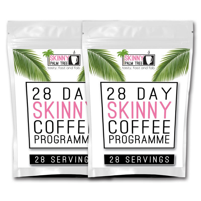 Skinny Palm Tree Weight Loss Coffee – 8 Week Programme