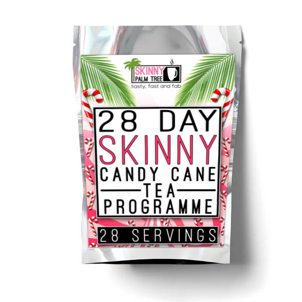 Skinny Palm Tree Weight Loss Tea Candy Cane Flavour - 28 Day Programme