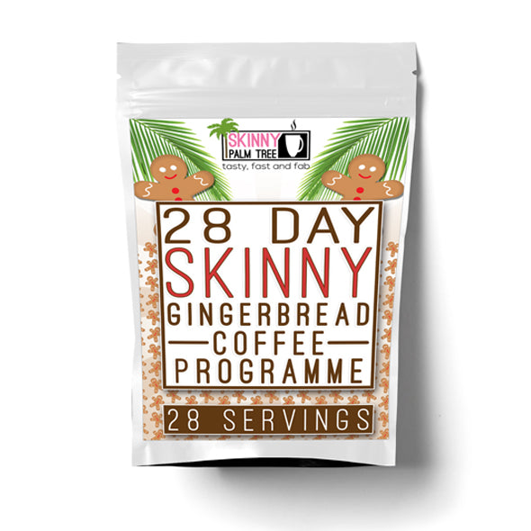 Skinny Palm Tree Gingerbread Weight Loss Coffee - 28 Day Programme