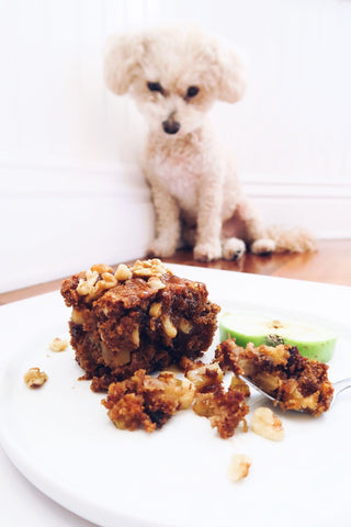 Brandied Apple Cake with Figs and Walnuts