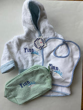 Load image into Gallery viewer, Baby Bundle $100- All Purpose Bag, Bibb, and Bathrobe