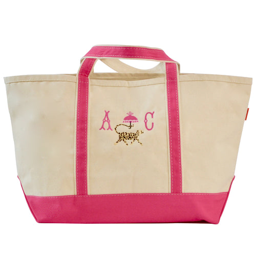 CANVAS LARGE BOAT TOTE