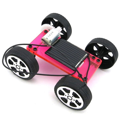 1 Set Mini Solar Powered Toy DIY Car Kit - Smartoys