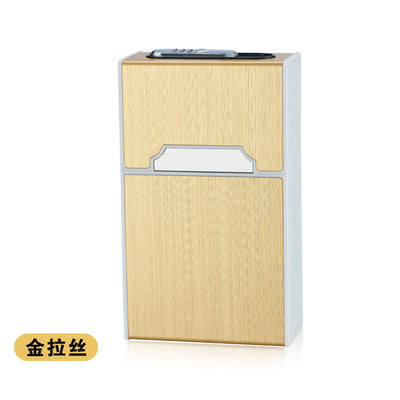 Portable USB Electronic Cigarette Case Box With Lighter - Smartoys