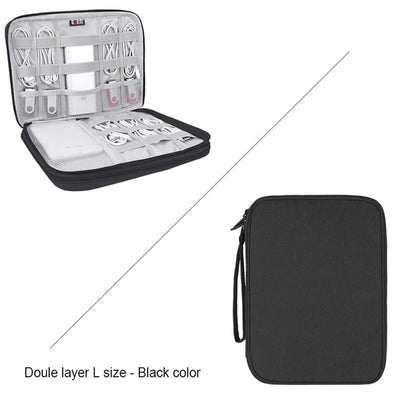 Universal Electronics Accessories Organizer/Travel Gadget Bag - Smartoys