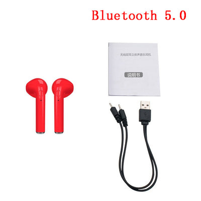 Wireless Bluetooth 5.0 Earphones mini Headsets Earbuds with Mic - Smartoys