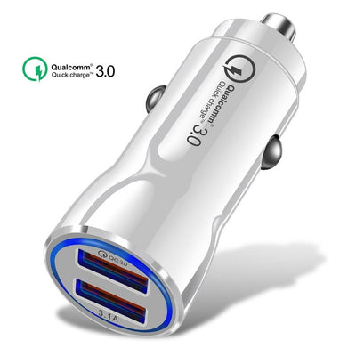 Olaf Car USB Charger Quick Charge - Smartoys