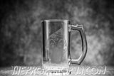 Michael Myers 16oz Etched Beer Mug