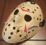 Friday The 13th Part 3 Jason Voorhees Mask Hand Painted