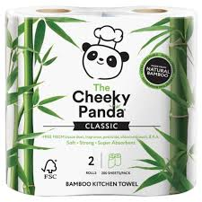 Cheeky Panda Kitchen Towel 2 Rolls