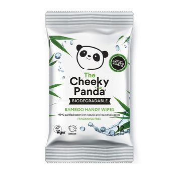 Cheeky Panda Biodegradable Bamboo Handy Wipes 12 Wipes