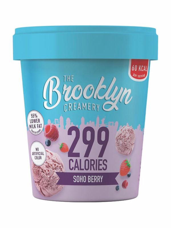 The Brooklyn Low Calorie Soho Berry Ice Cream 450ml