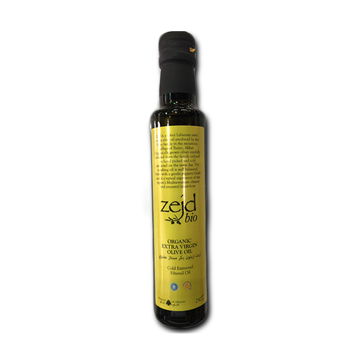 Zejd Organic Extra Virgin Olive Oil 250ml
