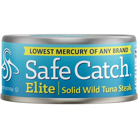 Safe Catch Elite Solid Wild Tuna Steak, NON GMO 142g