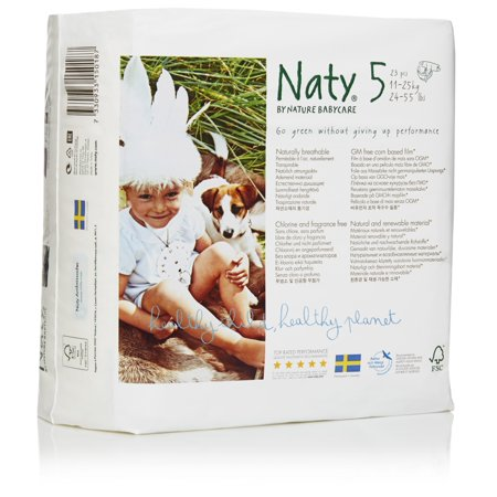 Eco by Naty Size 5 Diapers, 22 pieces
