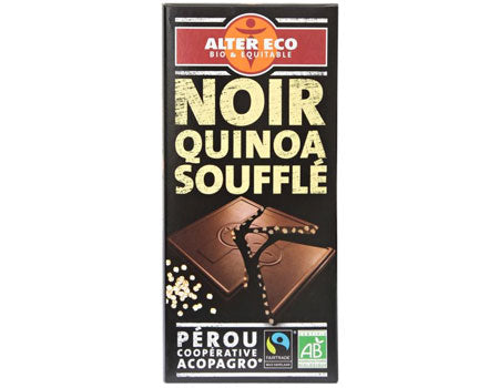 Alter Eco Organic Chocolate With Quinoa 100g