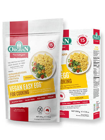 Orgran Gluten Free Vegan Easy Egg for Cooking 250g