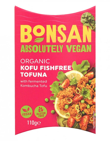 Bonsan Absolutely Vegan Organic Kofu Fishfree Tofuna 110g
