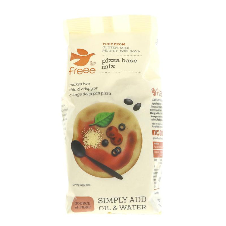 Doves Farm Freee Pizza Base Mix 350g