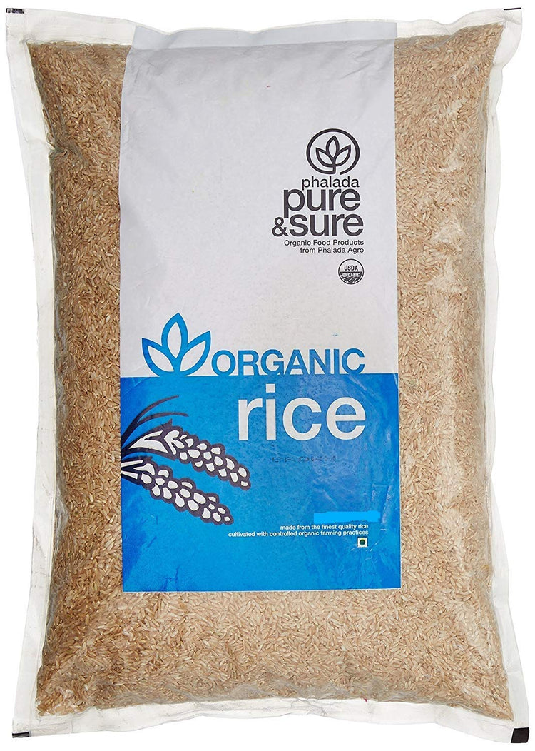 Phalada Pure & Sure Organic Brown Basmati Rice 1kg