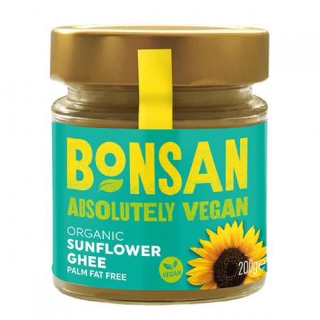 Bonsan Organic Sunflower Ghee 200g, Vegan