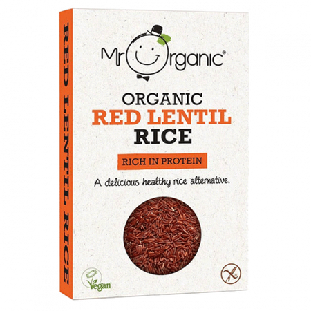 Mr. Organic Red Lentil Rice 250g