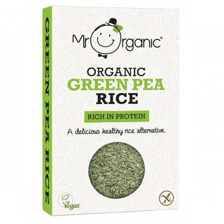 Mr. Organic Green Pea Rice 250g