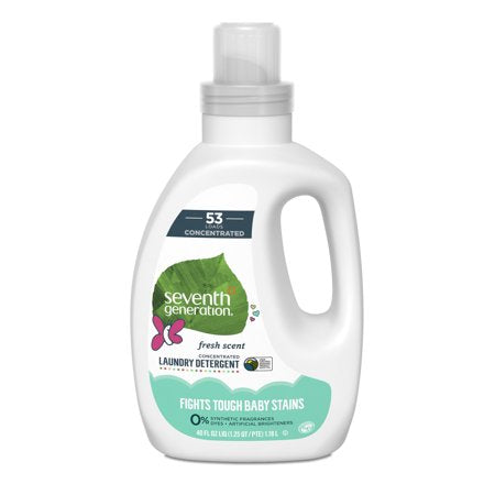 Seventh Generation Baby Liquid Laundry Detergent 1.18L